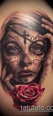 Фото тату в стиле Чикано – 05062017 – пример – 041 Tattoo in the style of Chicano