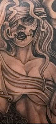 Фото тату в стиле Чикано – 05062017 – пример – 043 Tattoo in the style of Chicano