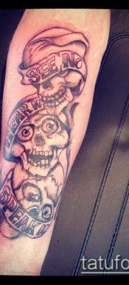Фото тату в стиле Чикано – 05062017 – пример – 050 Tattoo in the style of Chicano