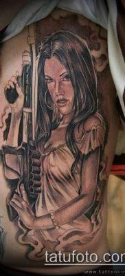 Фото тату в стиле Чикано – 05062017 – пример – 052 Tattoo in the style of Chicano