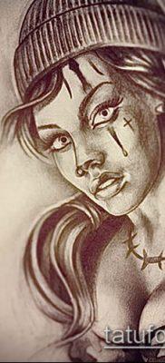 Фото тату в стиле Чикано – 05062017 – пример – 053 Tattoo in the style of Chicano