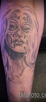 Фото тату в стиле Чикано – 05062017 – пример – 054 Tattoo in the style of Chicano