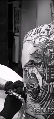 Фото тату в стиле Чикано – 05062017 – пример – 057 Tattoo in the style of Chicano