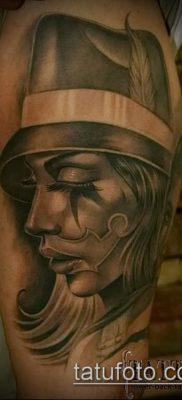 Фото тату в стиле Чикано – 05062017 – пример – 118 Tattoo in the style of Chicano