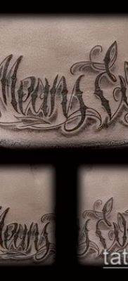 Фото тату в стиле Чикано – 05062017 – пример – 119 Tattoo in the style of Chicano