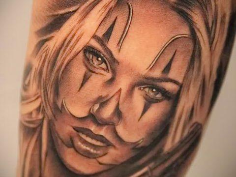 Фото тату в стиле Чикано - 05062017 - пример - 137 Tattoo in the style of Chicano