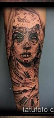 Фото тату в стиле Чикано – 05062017 – пример – 142 Tattoo in the style of Chicano