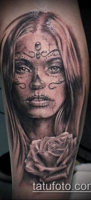 Фото тату в стиле Чикано – 05062017 – пример – 145 Tattoo in the style of Chicano