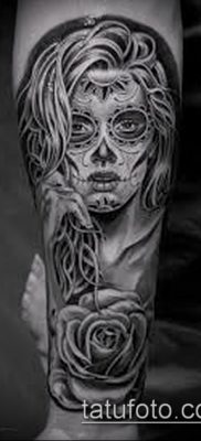 Фото тату в стиле Чикано – 05062017 – пример – 148 Tattoo in the style of Chicano