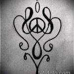 Фото тату знак - 23062017 - пример - 117 Tattoo sign symbol_tatufoto.com