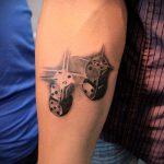 Фото тату игральные кости №649 - интересный вариант рисунка, который легко можно использовать для переработки и нанесения как тату игральные кости на запястье