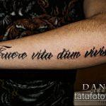 тату на латыни №922 - эксклюзивный вариант рисунка, который удачно можно использовать для преобразования и нанесения как тату на латыни женские на спине