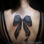 тату на спине №712 - классный вариант рисунка, который удачно можно использовать для переделки и нанесения как тату на спине девушка