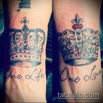 тату одна жизнь №850 - уникальный вариант рисунка, который легко можно использовать для переделки и нанесения как татуировка одна жизнь