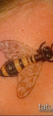 Фото тату оса насекомое – мехенди – 12062017 – пример – 012 Tatu wasp insect