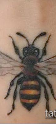 Фото тату оса насекомое – мехенди – 12062017 – пример – 015 Tatu wasp insect
