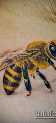 Фото тату оса насекомое – мехенди – 12062017 – пример – 016 Tatu wasp insect