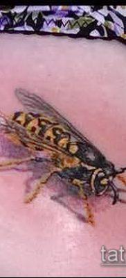 Фото тату оса насекомое – мехенди – 12062017 – пример – 020 Tatu wasp insect