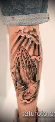 Фото тату руки молитва – 12062017 – пример – 009 Tattoo hands prayer