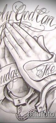 Фото тату руки молитва – 12062017 – пример – 010 Tattoo hands prayer