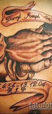 Фото тату руки молитва – 12062017 – пример – 013 Tattoo hands prayer