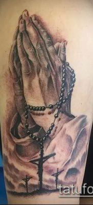 Фото тату руки молитва – 12062017 – пример – 015 Tattoo hands prayer