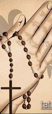 Фото тату руки молитва – 12062017 – пример – 020 Tattoo hands prayer