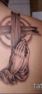 Фото тату руки молитва – 12062017 – пример – 023 Tattoo hands prayer