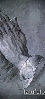 Фото тату руки молитва – 12062017 – пример – 114 Tattoo hands prayer