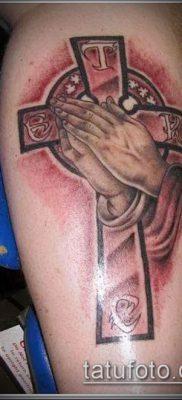 Фото тату руки молитва – 12062017 – пример – 117 Tattoo hands prayer