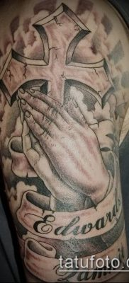 Фото тату руки молитва – 12062017 – пример – 127 Tattoo hands prayer