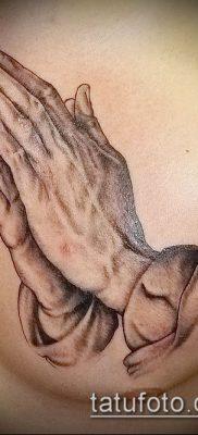Фото тату руки молитва – 12062017 – пример – 130 Tattoo hands prayer