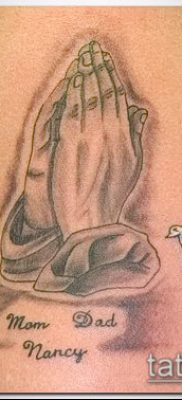 Фото тату руки молитва – 12062017 – пример – 135 Tattoo hands prayer