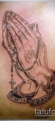 Фото тату руки молитва – 12062017 – пример – 137 Tattoo hands prayer