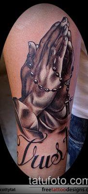 Фото тату руки молитва – 12062017 – пример – 144 Tattoo hands prayer