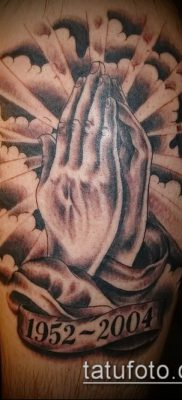 Фото тату руки молитва – 12062017 – пример – 147 Tattoo hands prayer