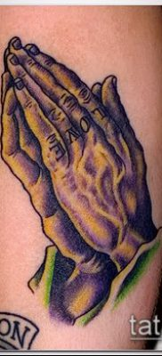 Фото тату руки молитва – 12062017 – пример – 151 Tattoo hands prayer