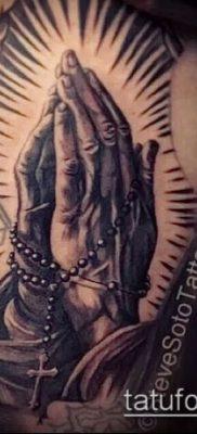 Фото тату руки молитва – 12062017 – пример – 155 Tattoo hands prayer