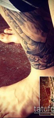 Фото тату руки молитва – 12062017 – пример – 158 Tattoo hands prayer