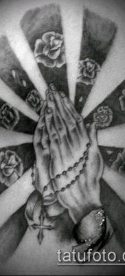 Фото тату руки молитва – 12062017 – пример – 162 Tattoo hands prayer