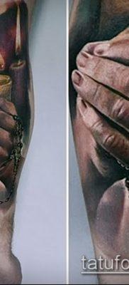 Фото тату руки молитва – 12062017 – пример – 164 Tattoo hands prayer