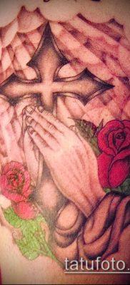 Фото тату руки молитва – 12062017 – пример – 167 Tattoo hands prayer