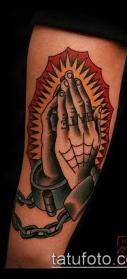 Фото тату руки молитва – 12062017 – пример – 178 Tattoo hands prayer