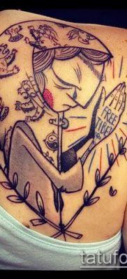 Фото тату руки молитва – 12062017 – пример – 184 Tattoo hands prayer
