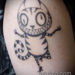 черное тату №513 - достойный вариант рисунка, который хорошо можно использовать для преобразования и нанесения как черное тату орнамент