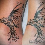 черное тату №489 - достойный вариант рисунка, который легко можно использовать для преобразования и нанесения как черное тату на плече