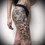 черное тату №638 - эксклюзивный вариант рисунка, который легко можно использовать для переделки и нанесения как черное тату орнамент