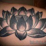 черное тату №705 - крутой вариант рисунка, который легко можно использовать для переработки и нанесения как черное тату во всю руку