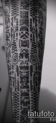 Фото этнические тату – 17062017 – пример – 089 Ethnic photo tattoos
