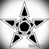 Эскизы тату звезды на ключице